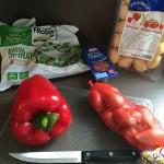 Gnocchi mit Spinat - Zutaten
