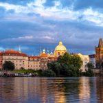 Blick auf Prager Altstadt