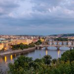 Prag - Brücken über der Moldau